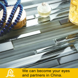 Mosaïque horizontale chaude de verre cristal de mélange de la vente 8mm