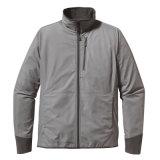 Mens способа греют куртку Softshell с застежкой -молнией в фронте