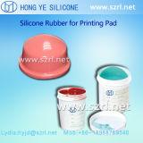Het Rubber van het Silicone van de Stootkussens van de druk RTV2 met Grote Veerkracht