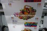 4 couleurs de la courroie de la pile de type Machine d'impression flexo pour sac de papier, non tissés