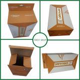 Boîte d'emballage de vente au détail de papier personnalisé les emballages en carton boîtes Hang trou
