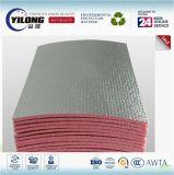 Materiale di isolamento termico della gomma piuma del di alluminio della fabbrica della Cina XPE