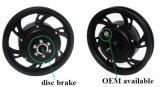 '' Motor eléctrico engranado 350W del eje de rueda de la bici de 48V Jb-105-12