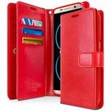 Caixa Shockproof tomada o partido dobro de couro da carteira do plutônio +TPU para Samsung S8 mais