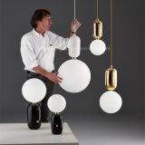 El LED enciende las lámparas simples modernas de las salas de estar de los comedores para la lámpara del vidrio del mercado de Europa