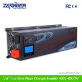 DC 4000W 12V 24V 48V к инвертору солнечной силы волны синуса AC 110V 220V чисто