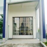 Portes industrielles en verre en aluminium sectionnelles