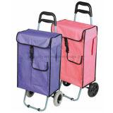 2 Poids léger polyvalent à roues chariot BAGAGES Sac de Shopping de pliage