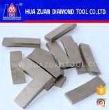 ダイヤモンドの大理石の鋭い切断セグメント