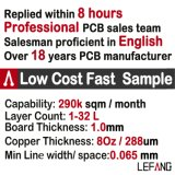 Fornecedor Multilayer do PWB da placa de circuito para produtos electrónicos de consumo