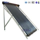 分割加圧真空の太陽ヒートパイプの不凍剤の太陽給湯装置