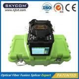 光ファイバケーブルの融合接続機械融合のスプライサLCDスクリーン