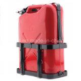 Красный цвет 5 Gal Джерри консервирует воискаа бака Caddy топливного горючего газолина непредвиденный резервные