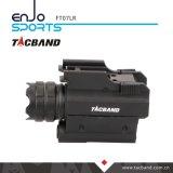 Taktische LED-Taschenlampe mit rotem Laser-Anblick-Zeiger für Waffe