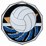 China paste het Vliegtuig van het Vakje van de Presentatie van de Medaille van de Politie van de Speld van het Volleyball van het Email aan