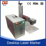 Mini máquina de grabado portable de la marca del laser de la fibra