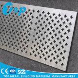Подгонянная фабрикой панель Artictic алюминиевая Perforated для системы потолка