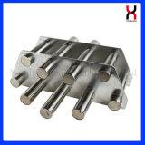 Filtro magnetico permanente con una griglia magnetica delle 5 barre dei tubi