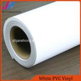 PVC brillant en vinyle blanc pour autocollant de voiture