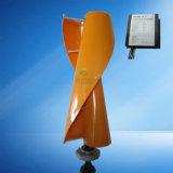 Вертикальный генератор энергии ветра с регулятором обязанности