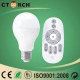 Bulbo esperto do diodo emissor de luz do tipo novo de Ctorch da chegada com controlador remoto