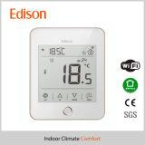Thermostat de pièce de chauffage à puce WiFi pour IOS / Android (TX-937HO-W)
