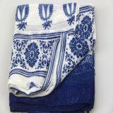 sciarpa del fiore di stampa di 98*180cm, scialli di stile di Boho, sciarpe dell'accessorio di modo