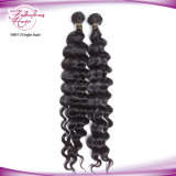 8A Wholesale billig lose tiefe Wellen-brasilianisches Jungfrau-Haar