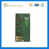 Bolsa de transporte de papel de qualidade forte para Oliver Oil (com logotipo de folha)
