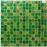 Mosaico de cristal barato para el azulejo de la pared del cuarto de baño