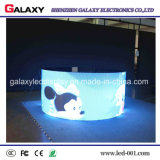 Alquiler exterior interior curvo fijo/Ronda de la pantalla de LED/Cartelera/firmar/Video Wall3.912.98 P/P/P/P5.954.81