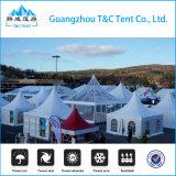 Manuelle Montage Mbile Hauptglasgazebo-Zelt in Ägypten
