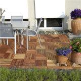 Древесина дешевого цены блокируя справляется плитки Decking DIY