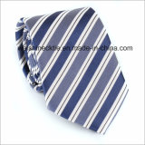 Cravate en soie en jacquard rayé Cravates pour hommes
