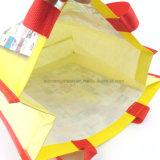 ISO/BSCI promotieOEM Vouwbare het Winkelen RPET van de Douane Zak