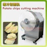 큰 유형 산업 고구마는 자르는 저미는 기계 바나나 바나나 칩을 잘게 썰어 기계를 만든