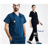Medical Surgery Wear Medical Uniform High Protection Scrub de 100% coton