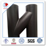 Aço Carbono Equal Tee Sch40 Carbon Steel Y Tee Pipe Fittings