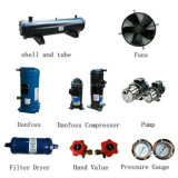 Refrigeratore di acqua raffreddato aria di temperatura insufficiente per l'essiccamento dell'aria compressa
