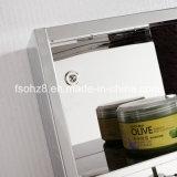 Красивейший и практически шкаф зеркала ванной комнаты мебели нержавеющей стали (7016)