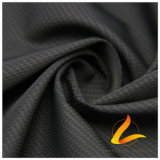 água de 75D 290t & do Sportswear tela 100% tecida do poliéster do jacquard para baixo revestimento ao ar livre Vento-Resistente (E116J)