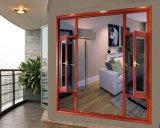 Fabrik-Verkaufs-moderne Aluminiumtüren und Windows-Entwürfe für Hotels