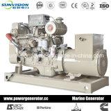 50Hz 100kw Cummins Groupe électrogène Marine avec chauffage certifié Exchager CCS/BV
