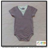 縞の印刷の赤ん坊の摩耗の夏の涼しい幼児Onesie