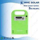 5 Вт портативный домашних солнечных фотоэлектрических энергетических комплект системы