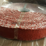 高温熱絶縁体の耐火性のシリコーンによって塗られるガラス繊維の布テープ