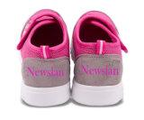女の子(CH-012)のためのキャンバスの子供の靴