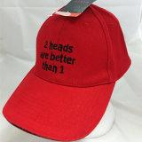 革ピークが付いている方法刺繍の野球のスポーツの帽子