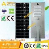 Quadrat-x 280 W alles in einem Solarstraßenlaterne-Hersteller
