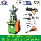 Kleine vertikale Plastikspritzen-Maschine für Belüftung-Kabel